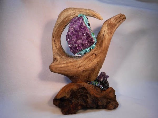 driftwood and crystal front