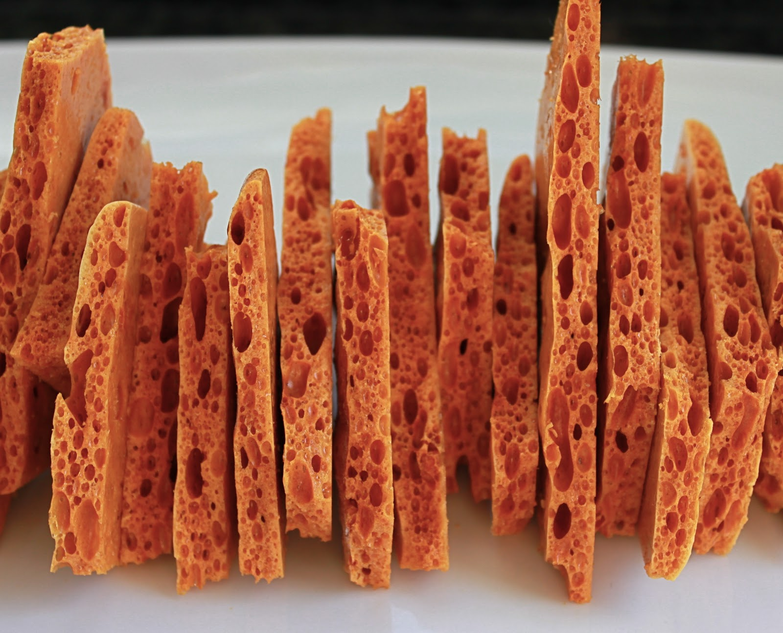 From Which Things Grow: Chew on This | Honeycomb Brittle