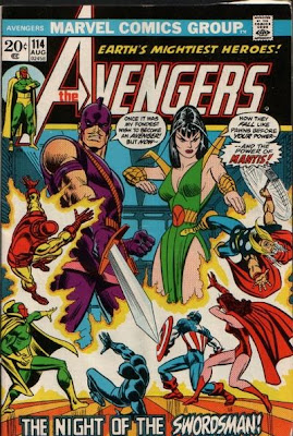 Avengers #114, Mantis and the Swordsman