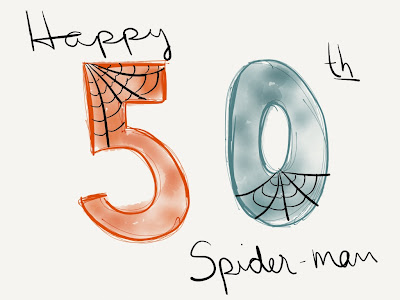 spider-man 50th anniversary