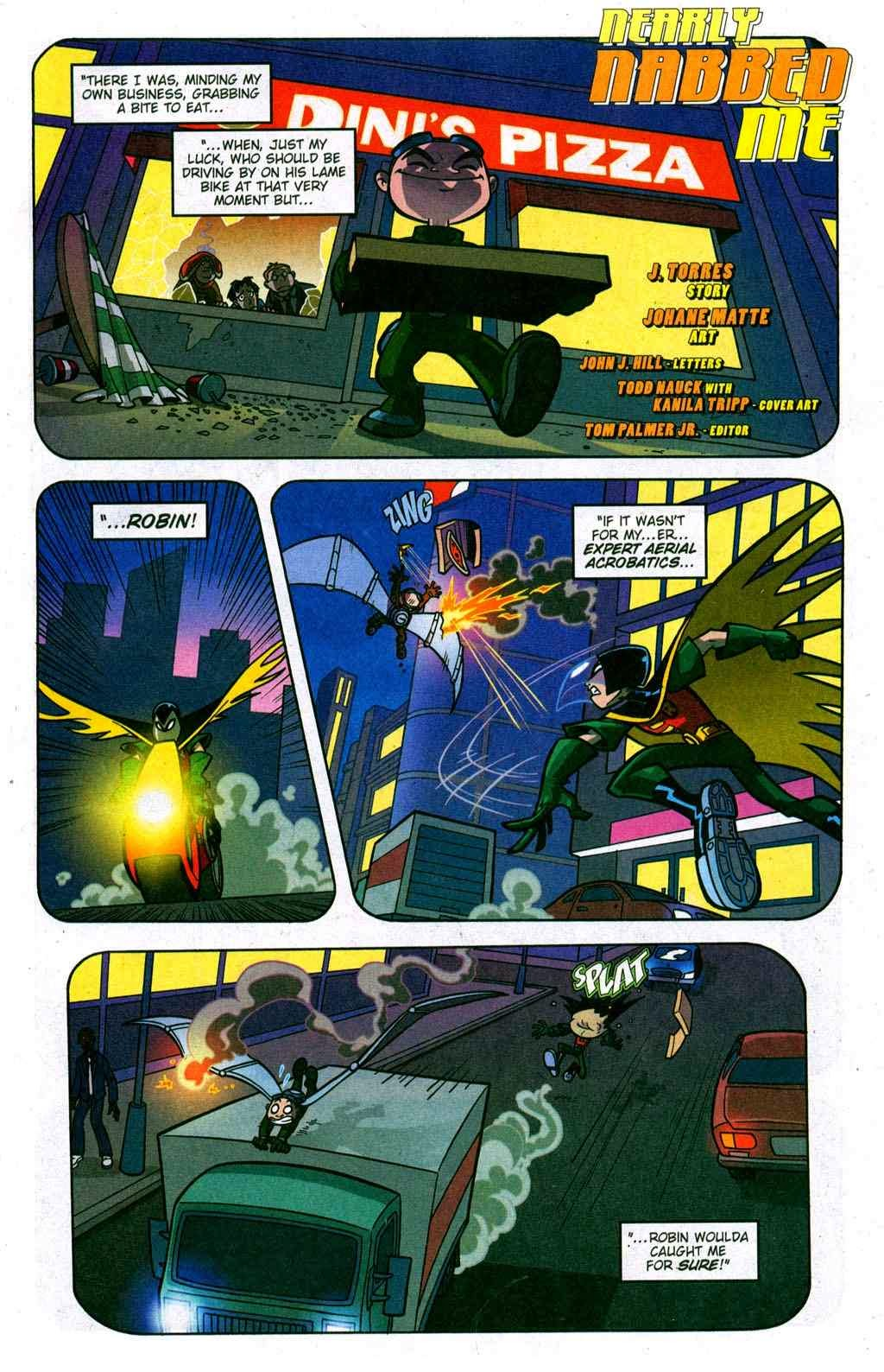 Lightning teen titans comic