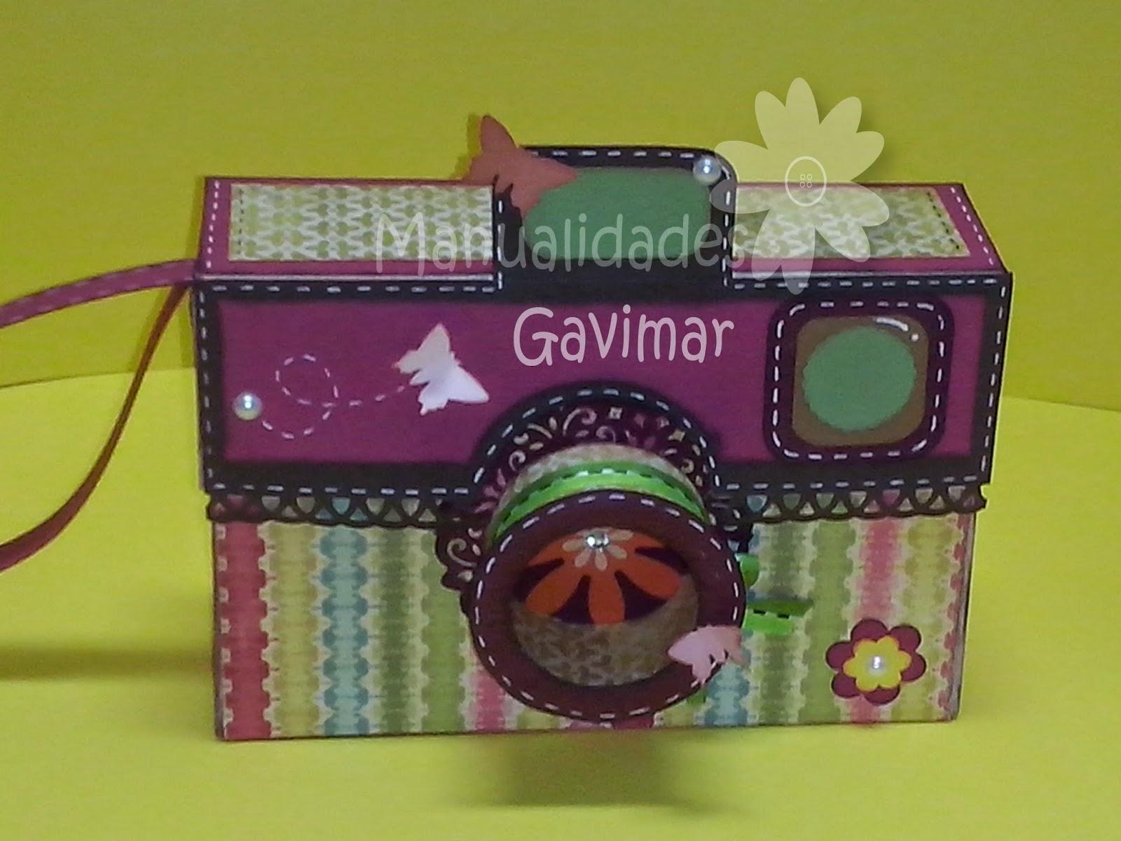 Manualidades gavimar camara fotografica for Regalo camera