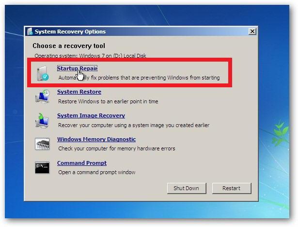 Komputer / laptop tidak bisa masuk windows b