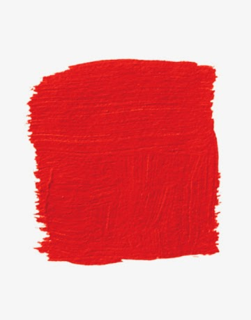 red interior paint