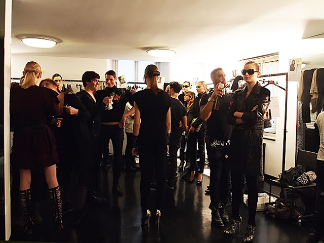 Krizia Backstage