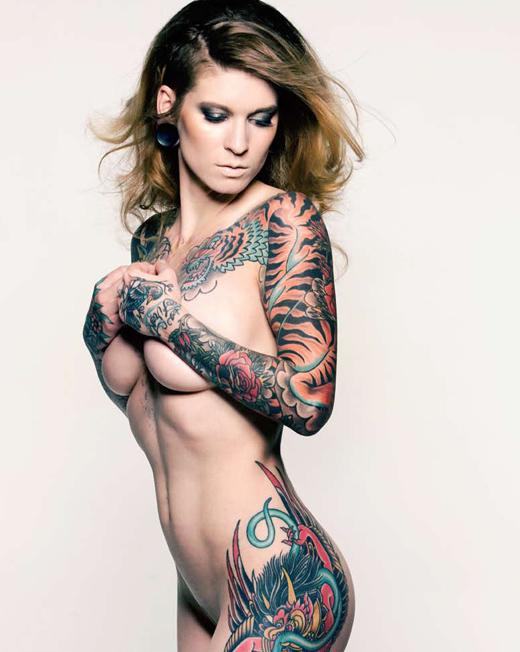 Фото татуированных девушек фото 416-573
