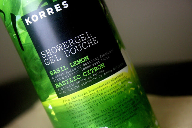Korres Basil Lemon Shower Gel Review, Photos