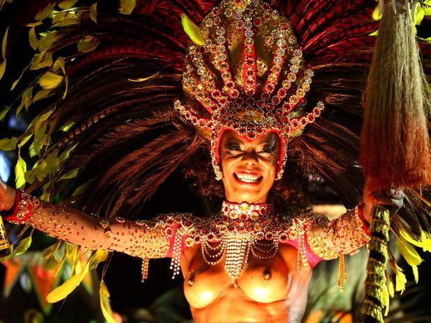 Mulheres Nuas Carnaval