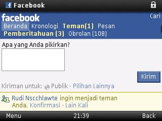 Obrolan Facebook