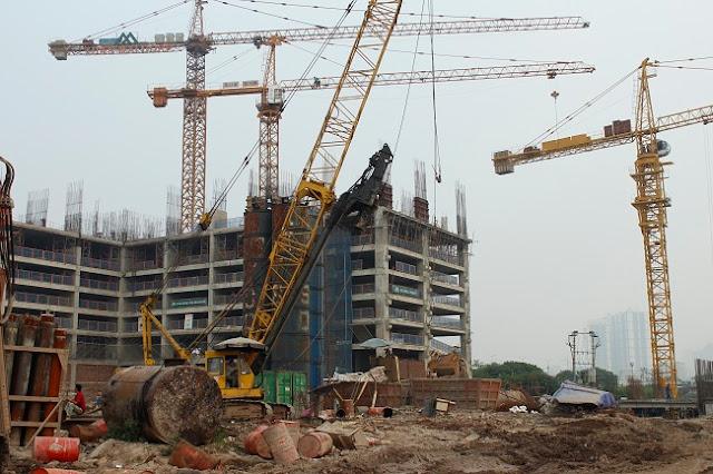 Tiến độ xây dựng tòa CT4 dự án Eco Green City