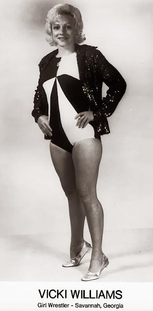 Vicki Williams - Classic Female Wrestling