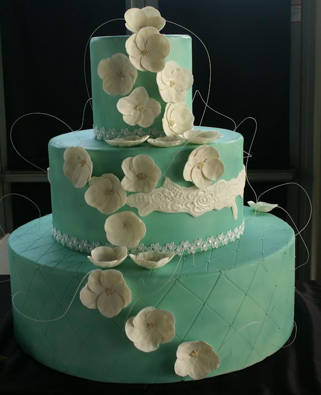Matrimonio Colore Azzurro Tiffany : Zuccheramente torta azzurro tiffany