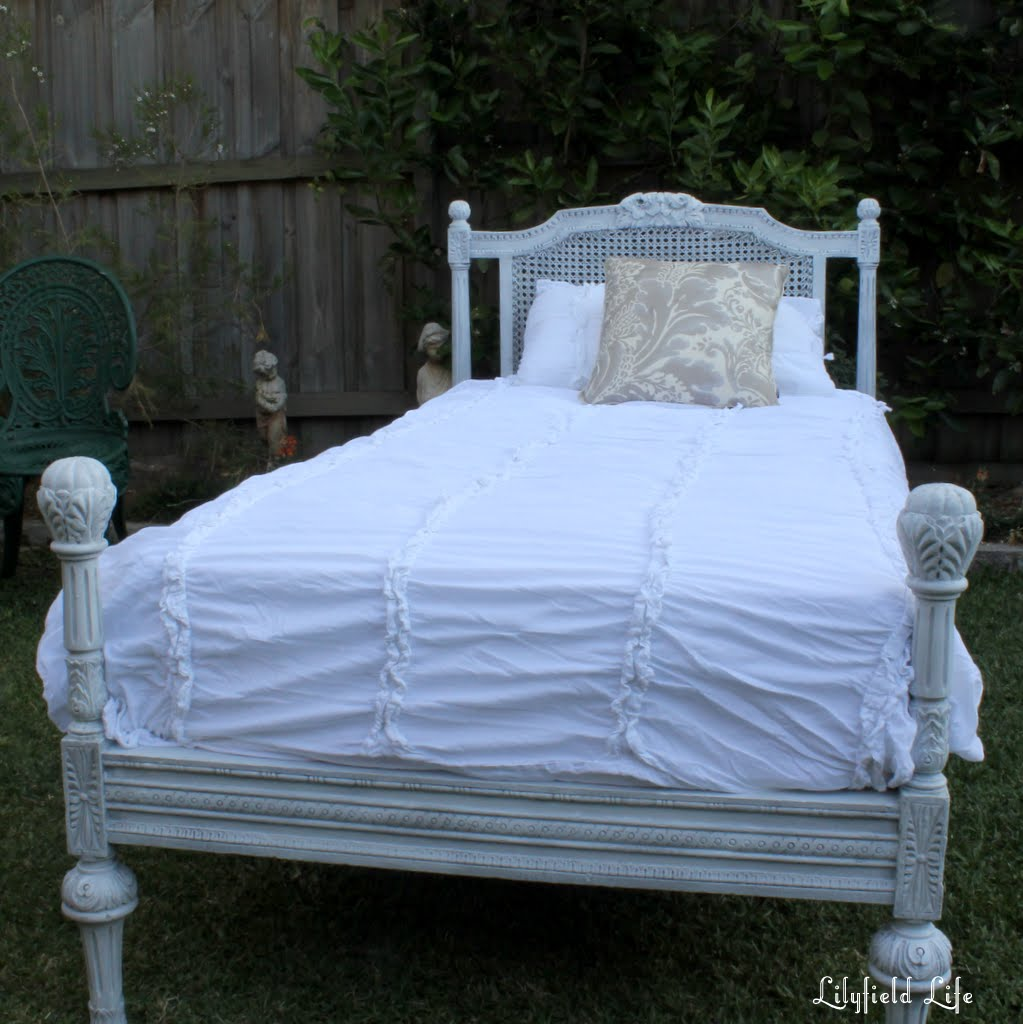 Lilyfield life vintage french bed makeover for Classic french beds
