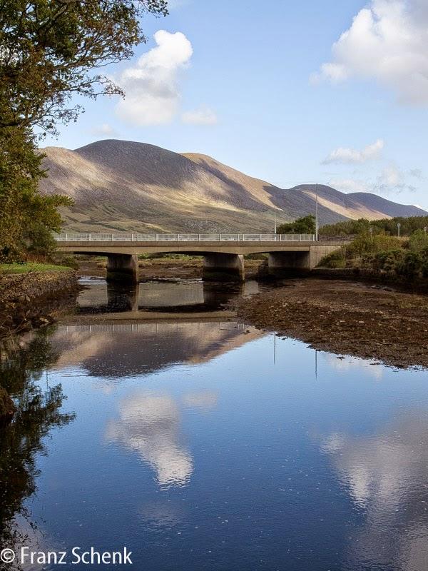 Bridge over Fertha River at Daniel 0`Connel Memorial Park