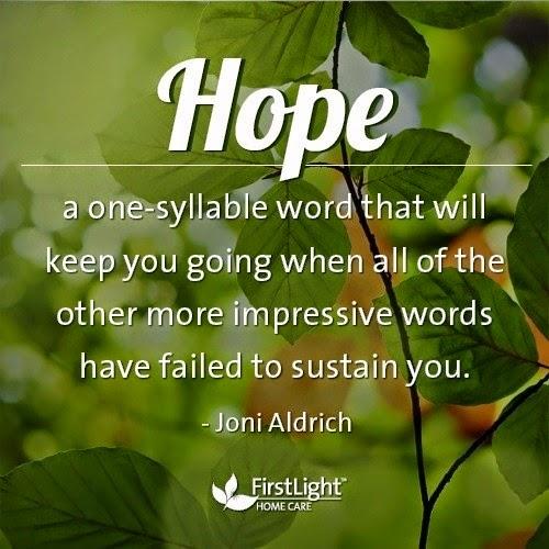 HOPE.....