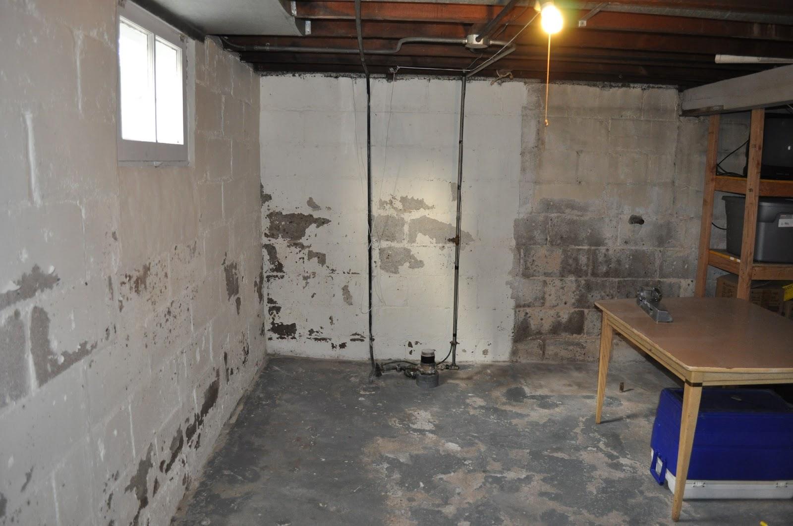 basement dry lok painting DIY reno painting the basement sealing #9B7430