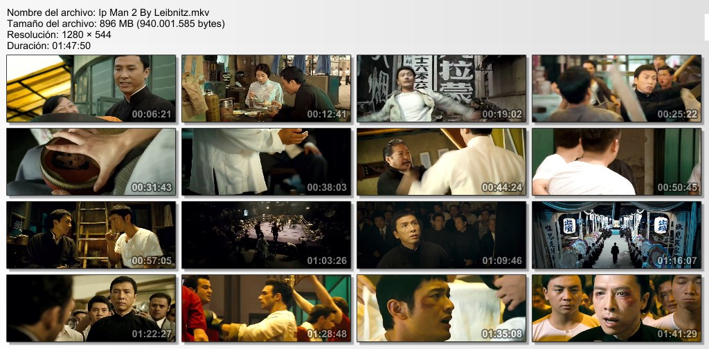 Ip Man 2 [BrRip] [Dual Lat-Chin]