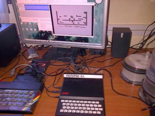 ZX81 con modo gráfico... ¡increíble!