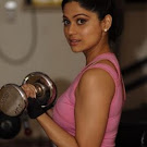Shamita Shetty at Gym Spicy Photos