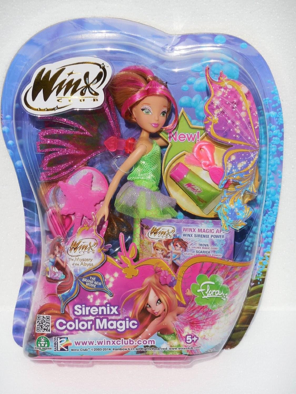 Iniziate A Volare Con Le Winx Magica Sirena Changing
