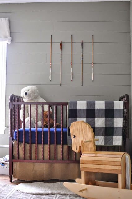 Outdoorsy, camping, boy scout nursery. Under the Crib Storage