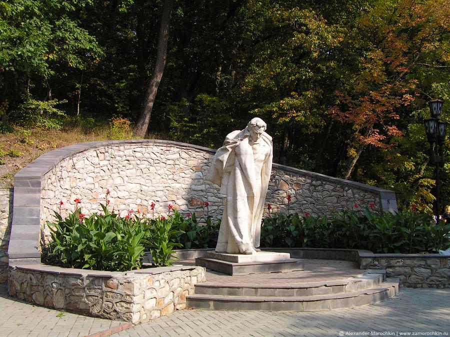 Памятник А. С. Пушкину в Железноводске