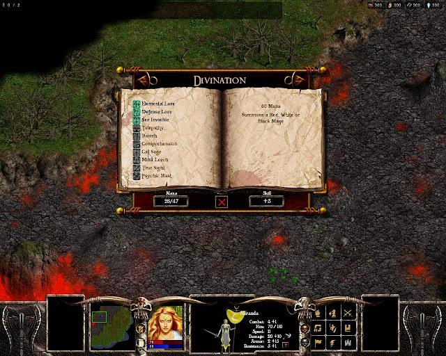 Warlords Battlecry 3 - Divination Magic Description