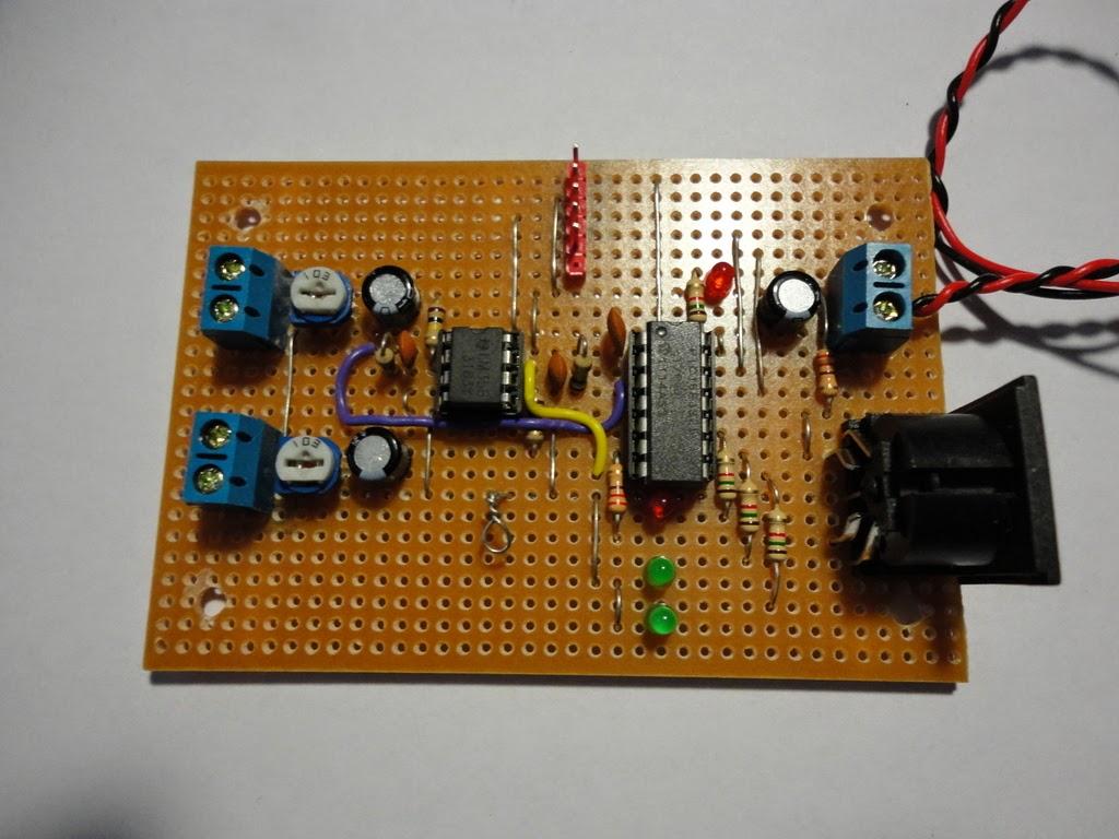 Stuff And Nonsense Colorsensorcircuit Light Sensor Circuitclick For Next Circuit On Stripboard