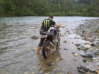 Cecen Core - Kawasaki Ninja 150R EVILution touring Aceh