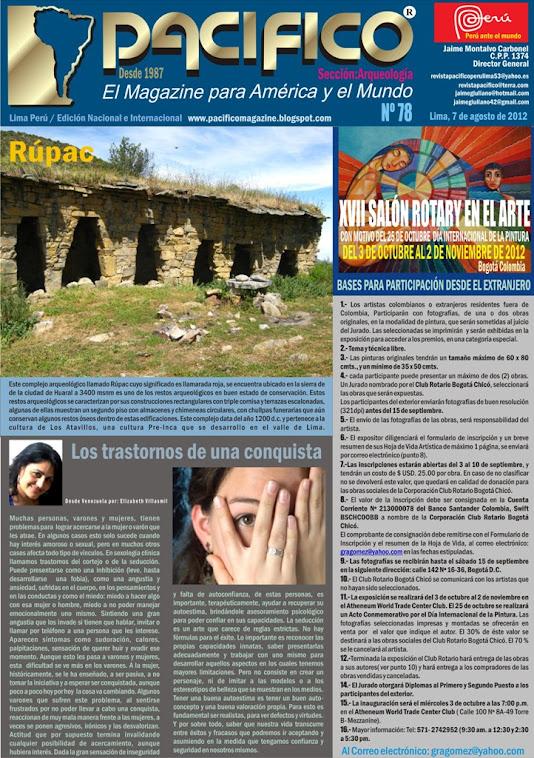 Revista Pacífico Nº78 Arqueología