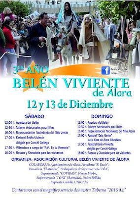 BELÉN VIVIENTE DE ÁLORA 2015 - MÁLAGA