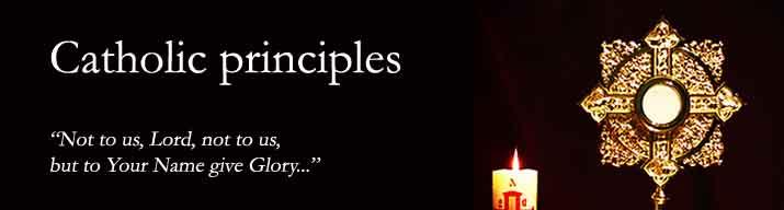 Catholic Principles
