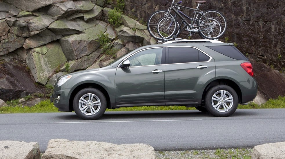 Chevrolet Equinox Earns IIHS Top Safety Pick+ Rating