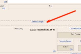 Cara Menambahkan Kolom dibawah Header blog-Cara memberi kolom tambahan di bawah header blog atau cara menyisipkan kolom di bawah header blog atau cara membuat 3 kolom di bawah header