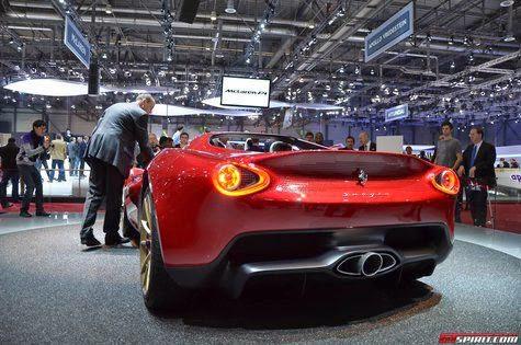 Sergio Pininfarina of Ferrari's coolest roadster concept