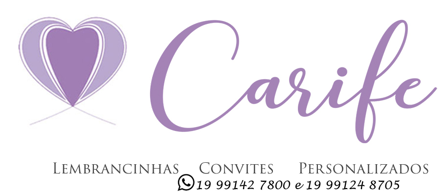 Carife Lembrancinhas, brindes e kits criativos e originais, feitos com exclusividade e amor