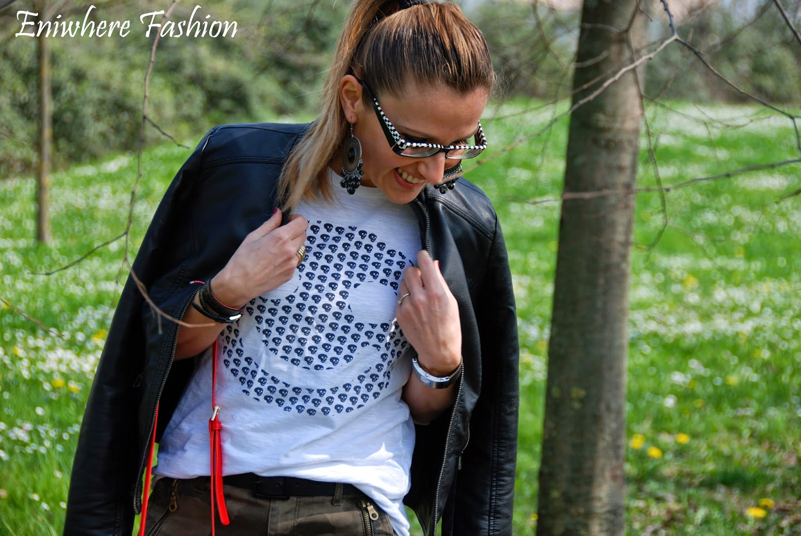 Eniwhere Fashion - campo margherite - outfit Zara