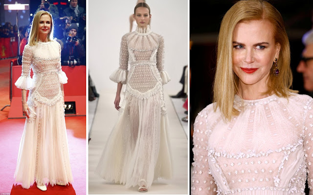 Nicole Kidman in Valentino Haute Couture Sala Bianca 945 Collection