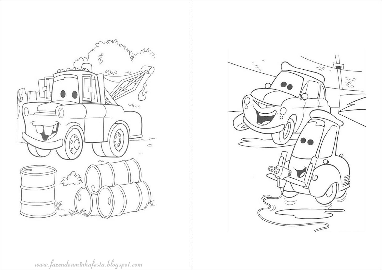 Desenhos de carros para colorir Desenhos para Colorir