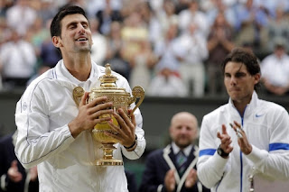 Novak Djokovic  numero uno del ranking ATP