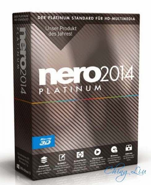 Nero 2014 Platinum 15.0.02200 Final Full Patch ChingLiu