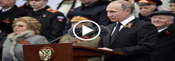 """VÍDEO - Putin envia mensaje: """"Nuestras Fuerzas Armadas rusas estan listas para enfrentar amenazas"""""""