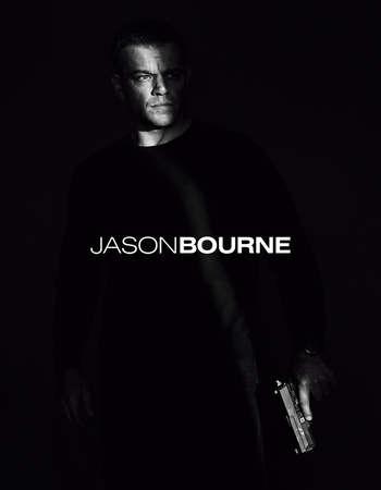 Poster Of Jason Bourne 2016 English 700MB Cam  Free Download Watch Online Worldfree4u