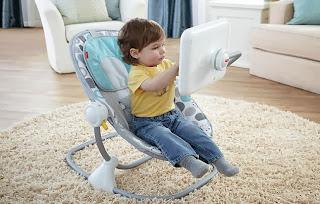 Bouncy seat Fisher Price : Over expose anak anak dengan ipad and such boleh bawa keburukan serius