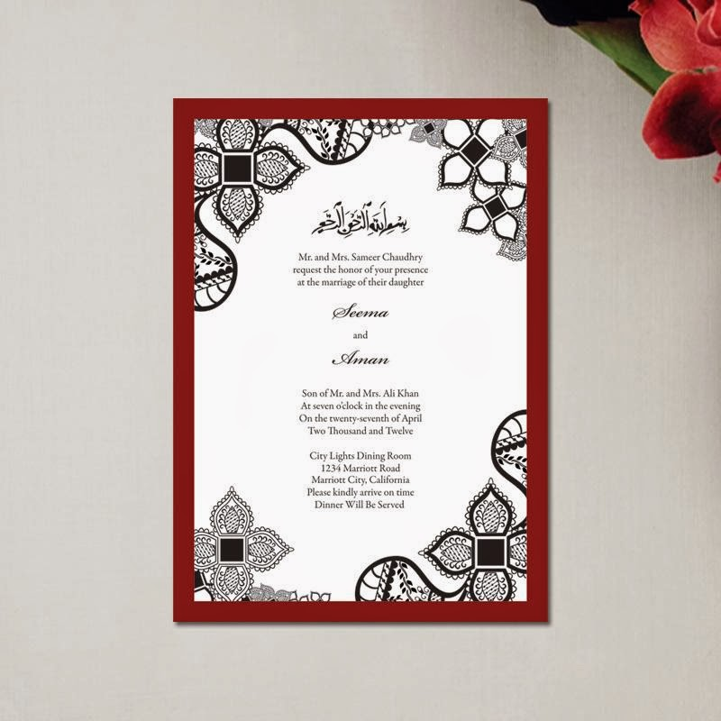 Top 3 Trends in Muslim Wedding Invitations