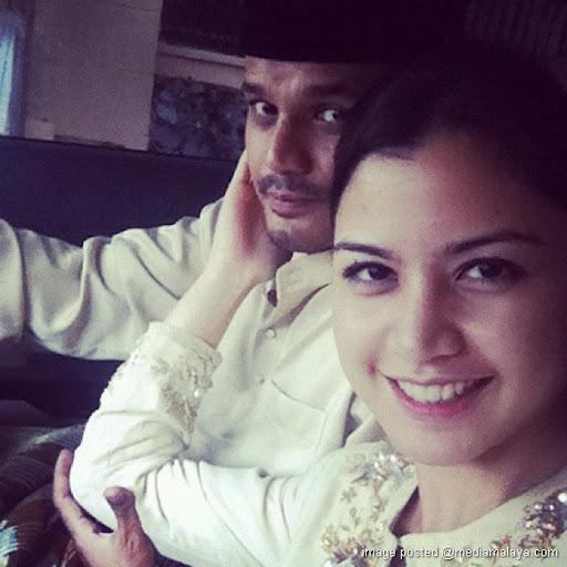 Gambar Yusry Dan Lisa Surihani Di Hari Raya 2012