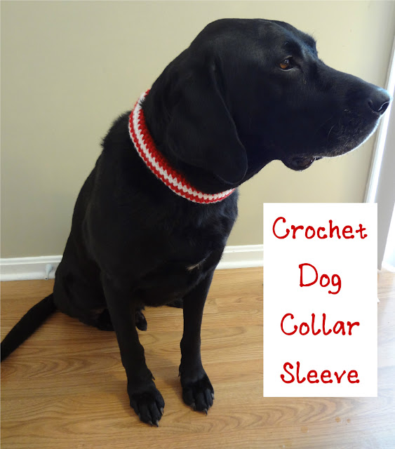 Fiber Flux Free Crochet Patternochet Pet Collar Sleeve