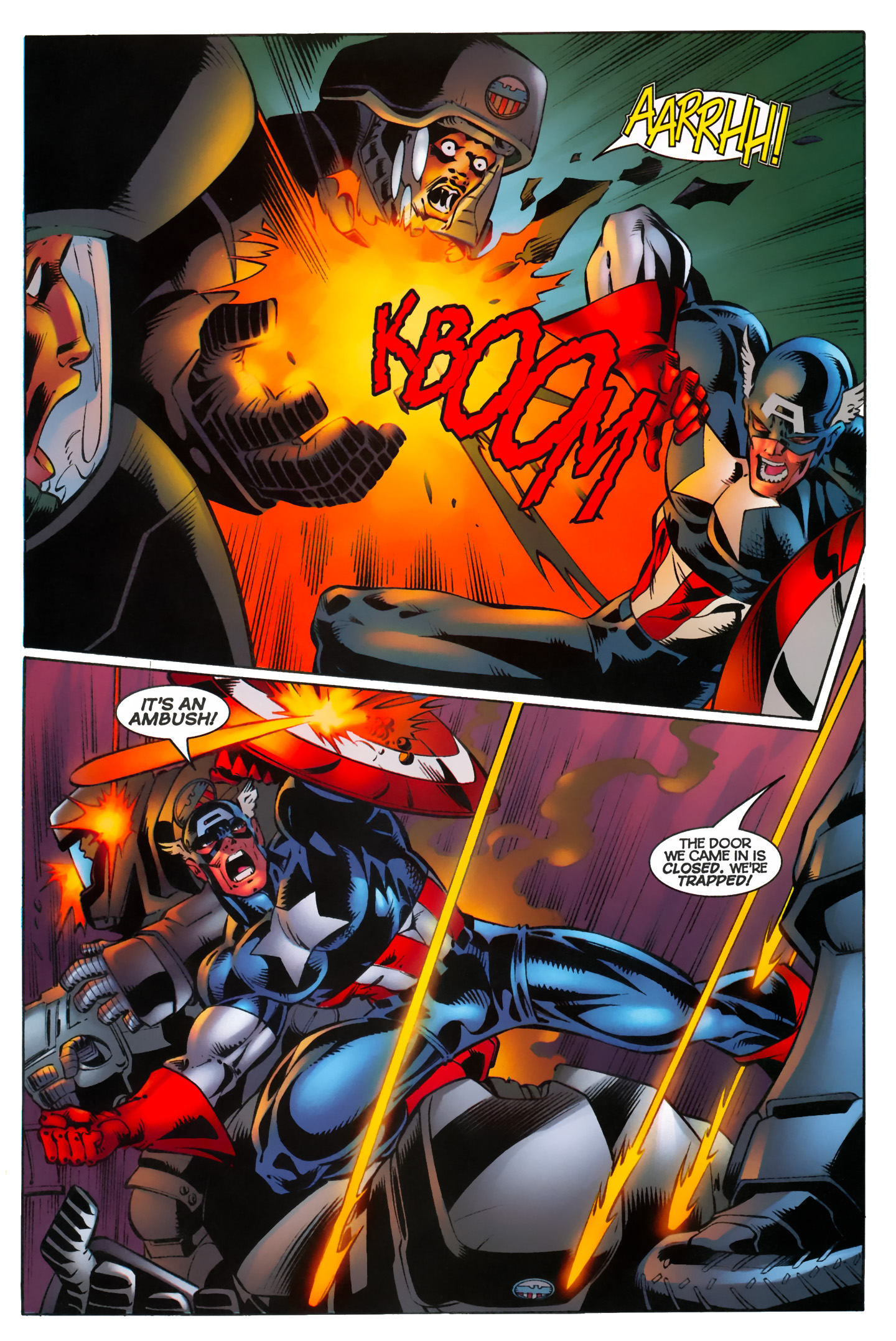 Captain America (1996) Issue #10 #10 - English 13
