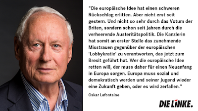 Oskar Lafontaine und Brexit