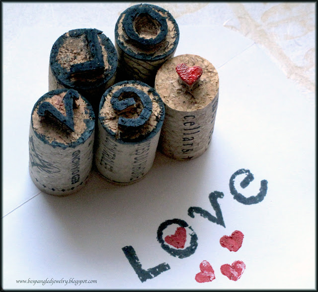 Tutorial: How to make your own handcarved stamps from upcycled wine corks